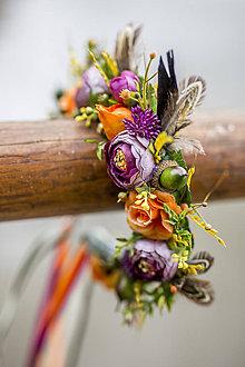 Iné šperky - Jesenná čelenka