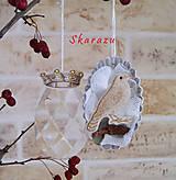 Dekorácie - Vtáčí kráľovský pár / ONA - 8730122_