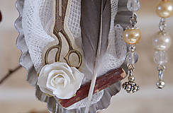 Dekorácie - Vtáčí kráľovský pár / ONA a jej doplnky - 8732692_