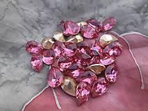 - Ružový kabošon - kvapka - 8733189_