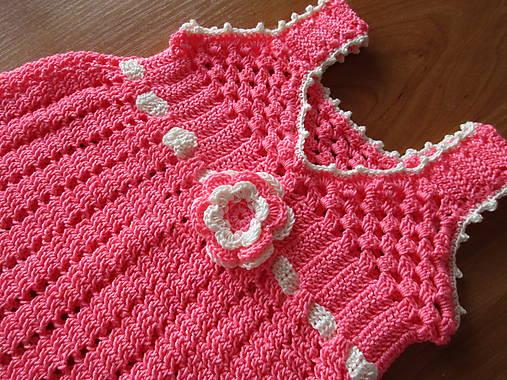 2bcfe8f75 Háčkované šaty / susan36 - SAShE.sk - Handmade Detské oblečenie