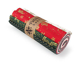 Textil - Bavlnené látky - rolka Christmas 4 - 8733187_