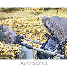 Detské súpravy - Luxusný set na kočík - 8736904_