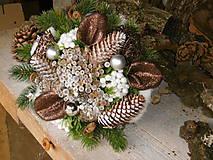 Dekorácie - Vianočná kytica - 8738225_