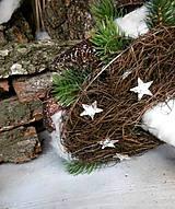 Dekorácie - Vianočná kytica - 8738227_