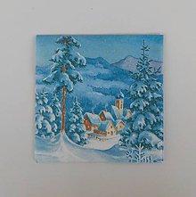 Papier - Vianočná servítka - 8736923_