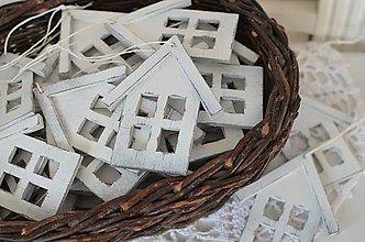 Dekorácie - Patinované domčeky - 8736310_