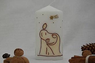 Svietidlá a sviečky - Betlehemská sviečka - 8737013_
