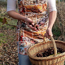 Iné oblečenie - Zásterka jesenný patchwork - 8737201_