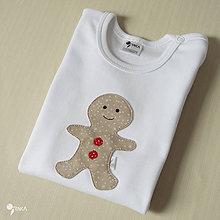 Detské oblečenie - body PERNÍČEK (dlhý/krátky rukáv) - 8736922_