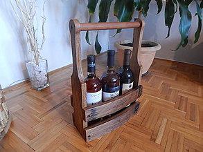 Nábytok - Prepravka na víno - 8734635_
