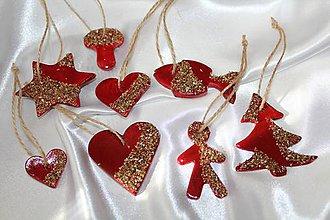 Dekorácie - Vianočné ozdoby na stromček