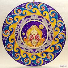Dekorácie - Mandala RAK-CANCER ( Z kolekcie