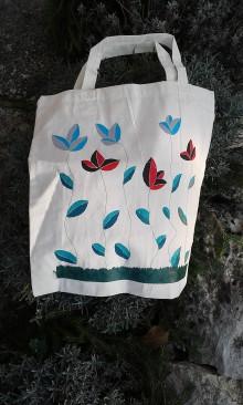 Nákupné tašky - Taška Kvet ťahavý obyčajný - 8736799_