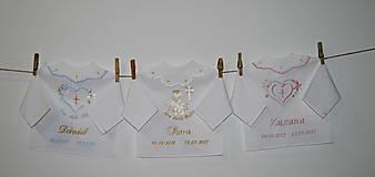 - košieľka na krst pre ewvka18 - 8737074_