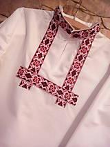 Detské oblečenie - Chlapčenská folklórna košeľa - 8736325_
