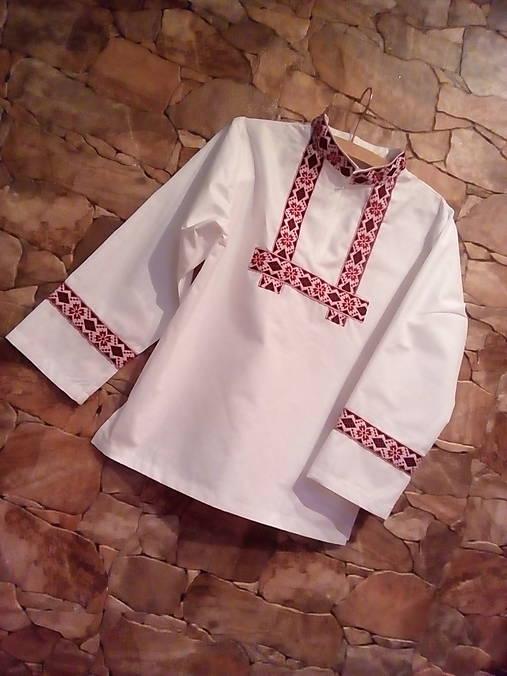 Chlapčenská folklórna košeľa