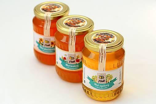 Včelí med, 470g