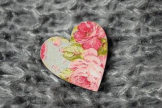 """Odznaky/Brošne - Brošňa """"ruže"""" - 8739746_"""