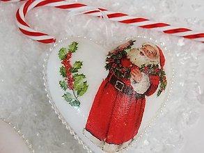 Dekorácie - Vianočné ozdoby na stromček - 8741050_