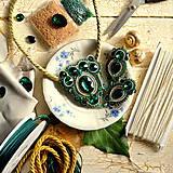 Sady šperkov - Golden emerald - sutašková souprava - 8743221_