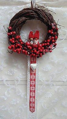 Dekorácie - Veniec vianočný ...deti - 8742710_