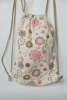 Detské tašky - Vrecúško na prezuvky - vak - ruksak- pre deti - 8740553_