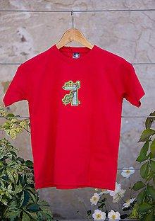 Detské oblečenie - vianočné tričko pre psíčkara - 8739280_
