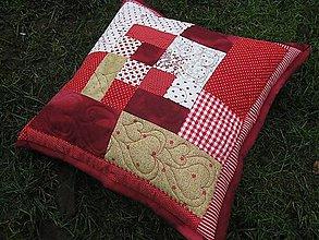 Úžitkový textil - vianočný vankúš - 8742231_