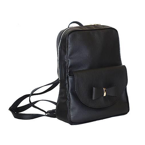 786bc523b Kožený ruksak z pravej kože v čiernej farbe / Kozena-galanteria ...