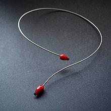 Náhrdelníky - Recy náhrdelník šípky - 8739338_