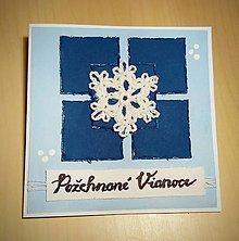 Papiernictvo - Vianočná pohľadnica - 8743582_