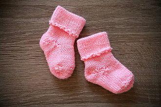 Topánočky - Ponožky pre bábätko - 8744218_