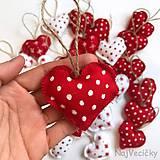 Dekorácie - Vianočné Mini Červené i Biele - 8741240_