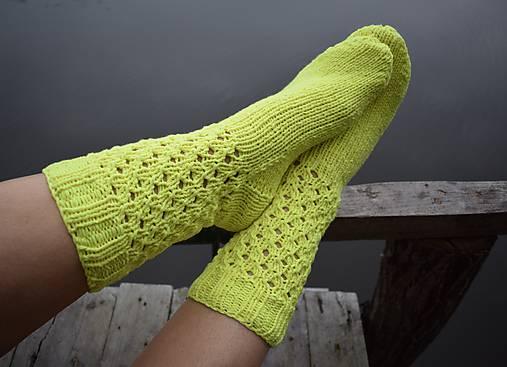 8a58735db žlté neon ponožky bavlna a akryl (v.39-40) / Eva64 - SAShE.sk ...