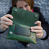 Peňaženky - Kožená peňaženka - Easy ... Zelená - 8741426_