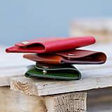 Peňaženky - Kožená peňaženka - Easy ... Zelená - 8741436_