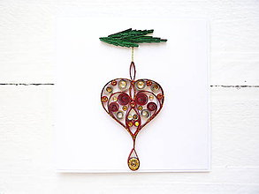 Papiernictvo - vianočná pohľadnica - 8743605_