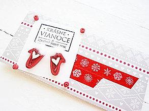 Papiernictvo - vianočná darčeková obálka - 8743866_