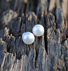 Náušnice - ...len perla? I. - 8748664_