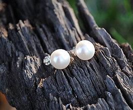 Náušnice - ...len perla? II. - 8748755_