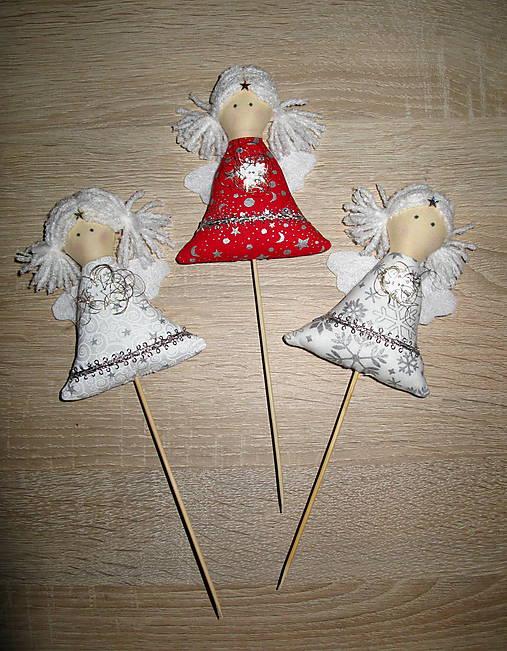 e269c466bd21 Vianočný anjel - sada 3ks   slniecko84 - SAShE.sk - Handmade Dekorácie