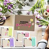 Papiernictvo - Kalendár do vrecka - KVETY - 8748217_