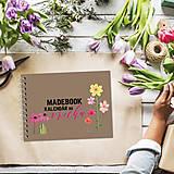 Papiernictvo - Kalendár do vrecka - KVETY - 8748218_