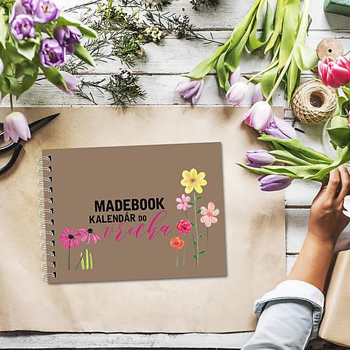 Kalendár do vrecka - KVETY