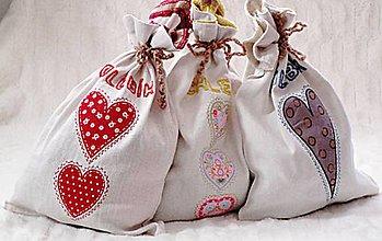 Úžitkový textil - vrecúška na chlieb 1 - 8749332_