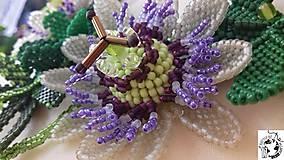 Náhrdelníky - Passiflora - mučenka - 8745889_