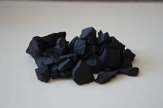 Minerály - Šungitová drť - 8748246_