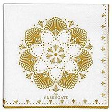 Papier - Servítka  G62-Elvina Gold - 8749631_