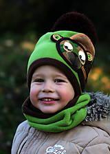 Detské čiapky - Macko vojačik - 8748948_